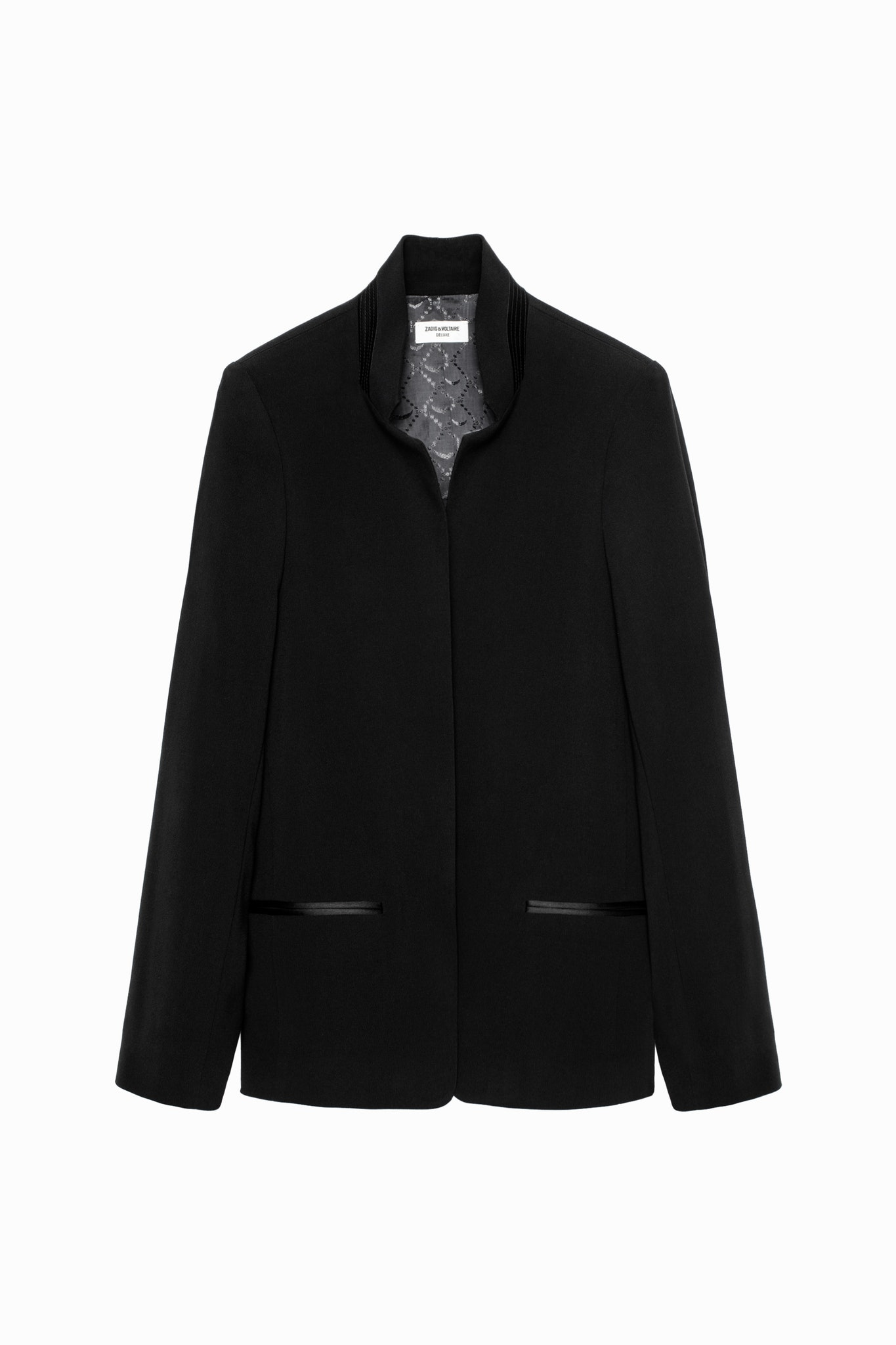 Volly Crepe Jacket