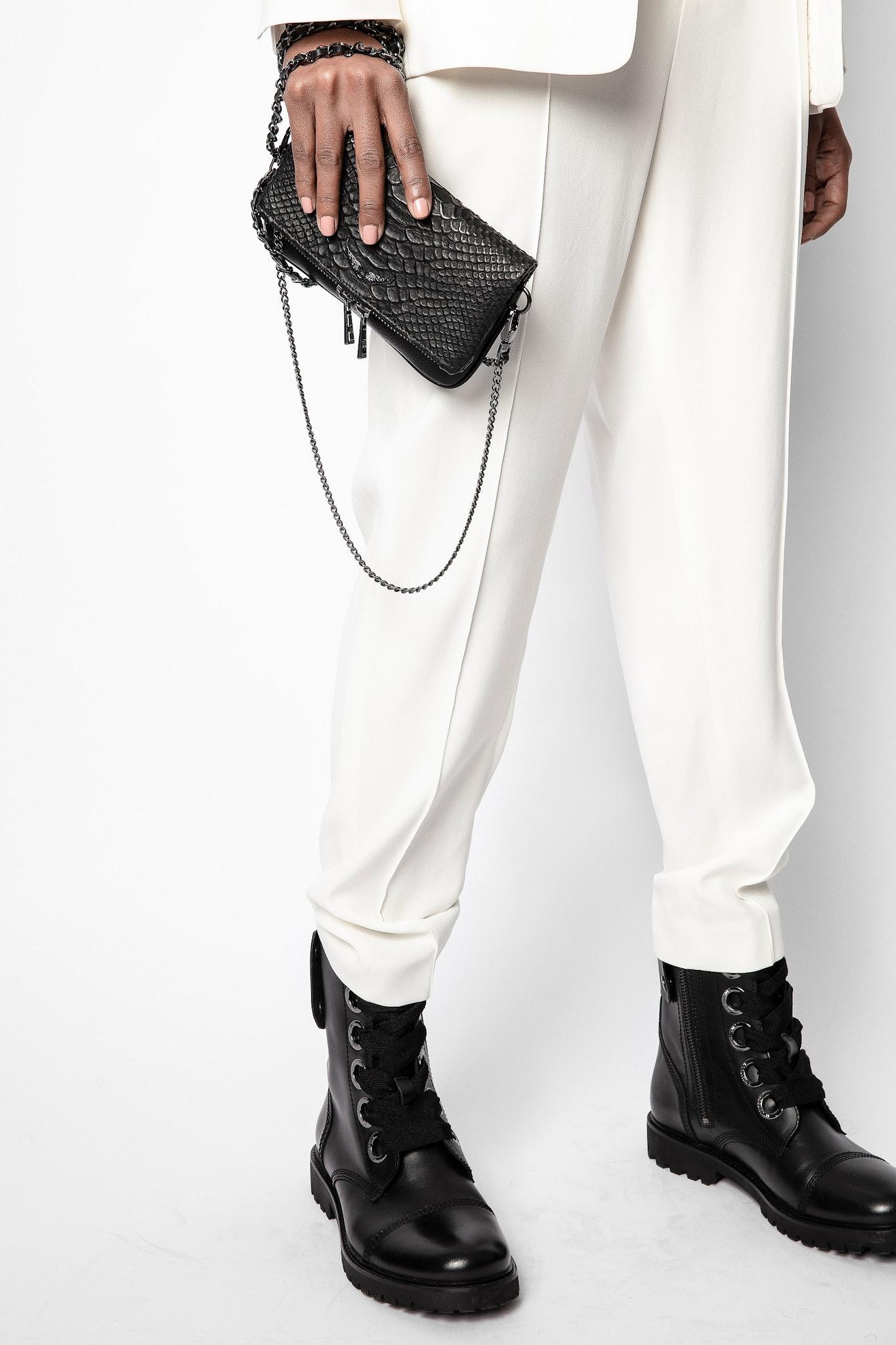 Pantaloni Panda Crepe