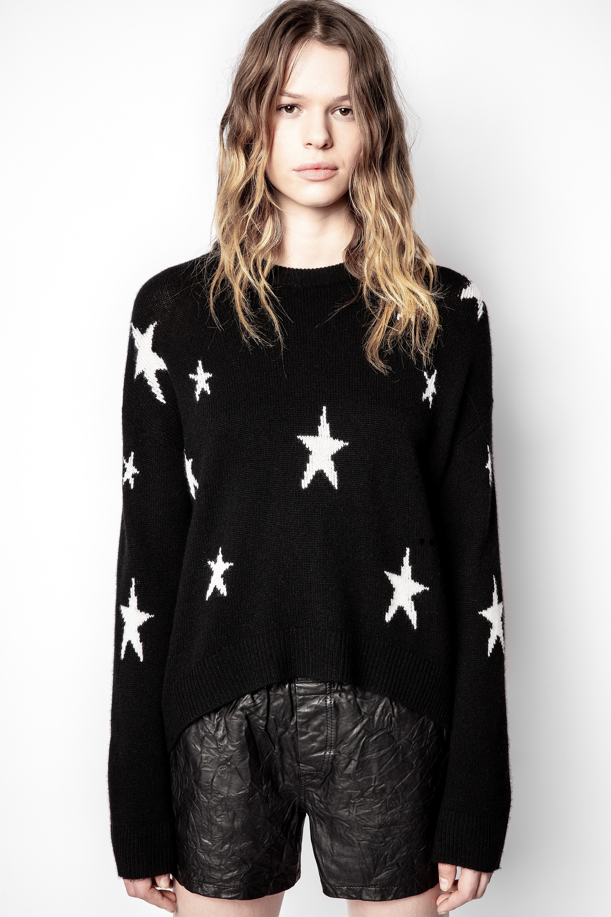 Markus Cachemire Star Sweater