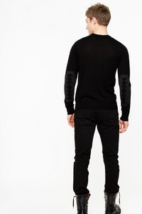 Jeremy Patch Bis Mérinos Sweater