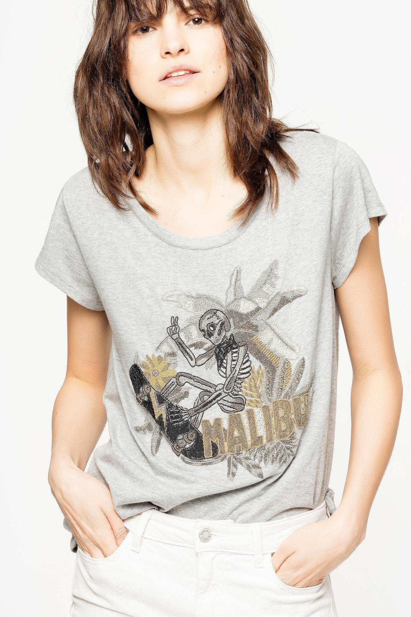 Meryl Canetille Skeleton T-Shirt