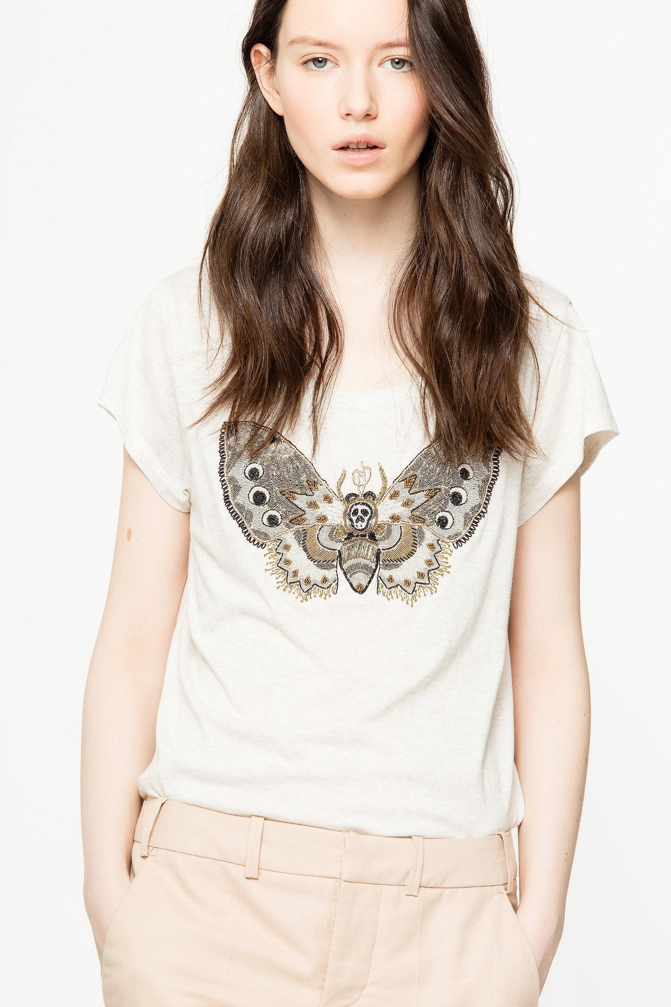 Meryl Canetille Butterfly T-Shirt