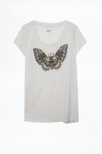 Camiseta Meryl Canetille Butterfly