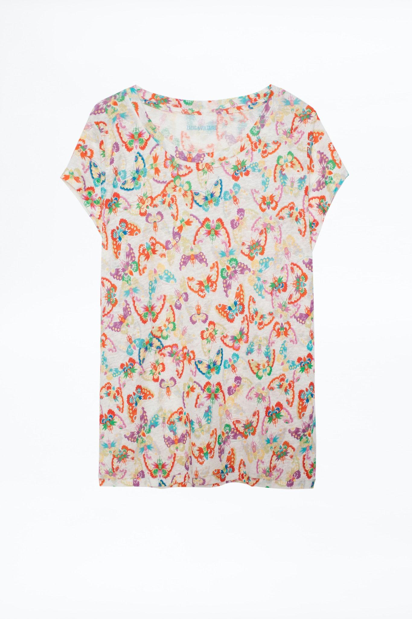 Camiseta Meryl Lin All Over Butterfly