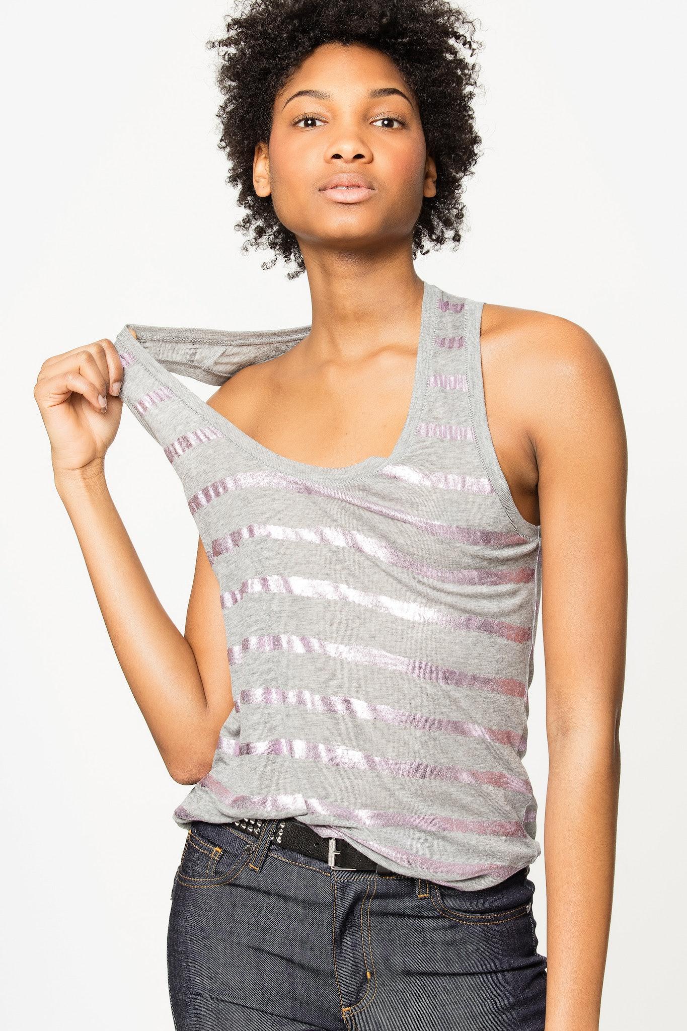 Camiseta Sin Mangas Tino Foil