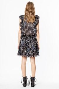 Rimana Print Paisley dress