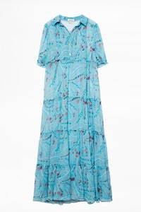 Rapidel Print Psyche Dress