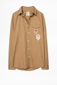 Camisa Santiago Badge