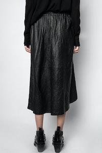 Joslin Cuir Froissé skirt