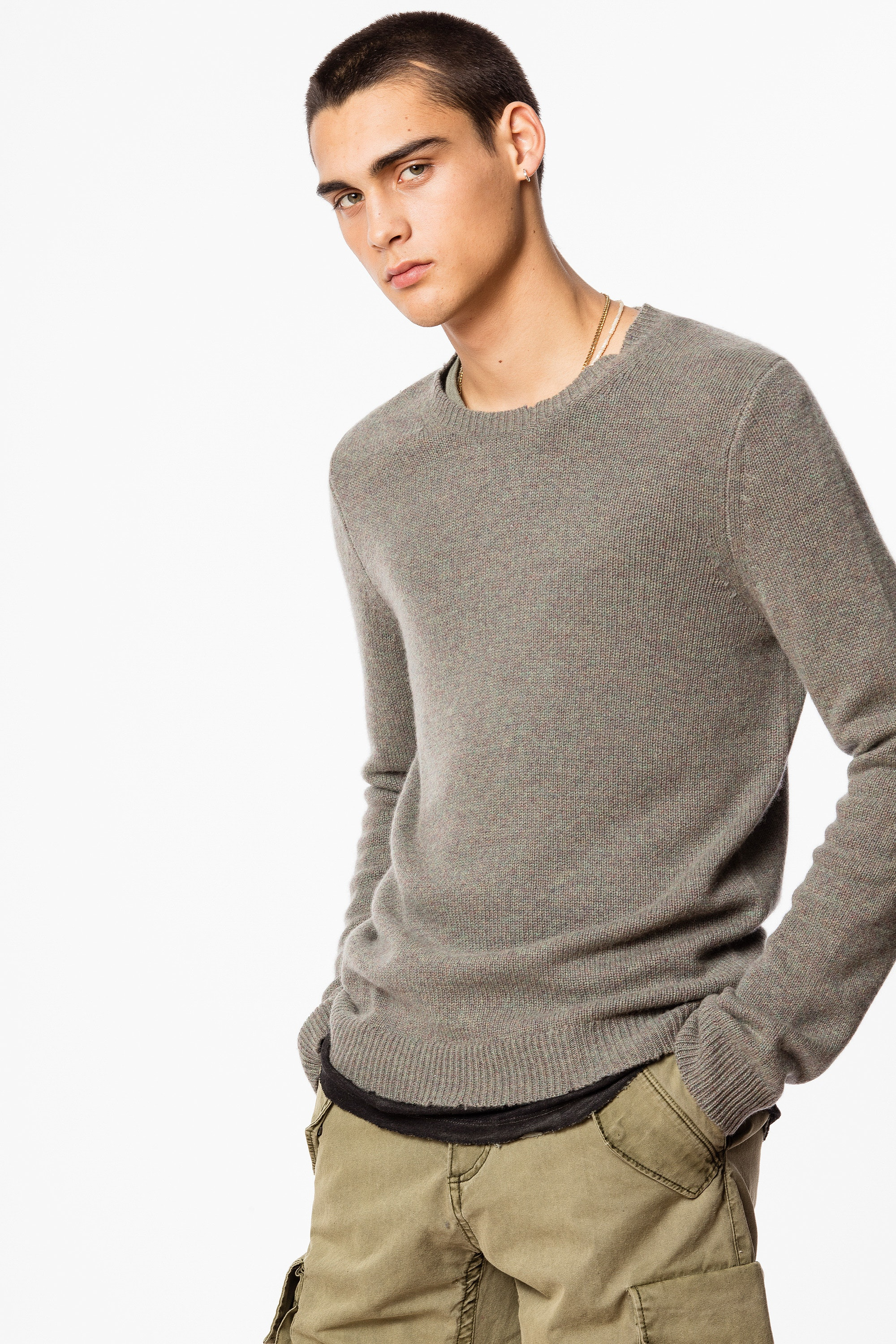 Pull Kennedy Cachemire