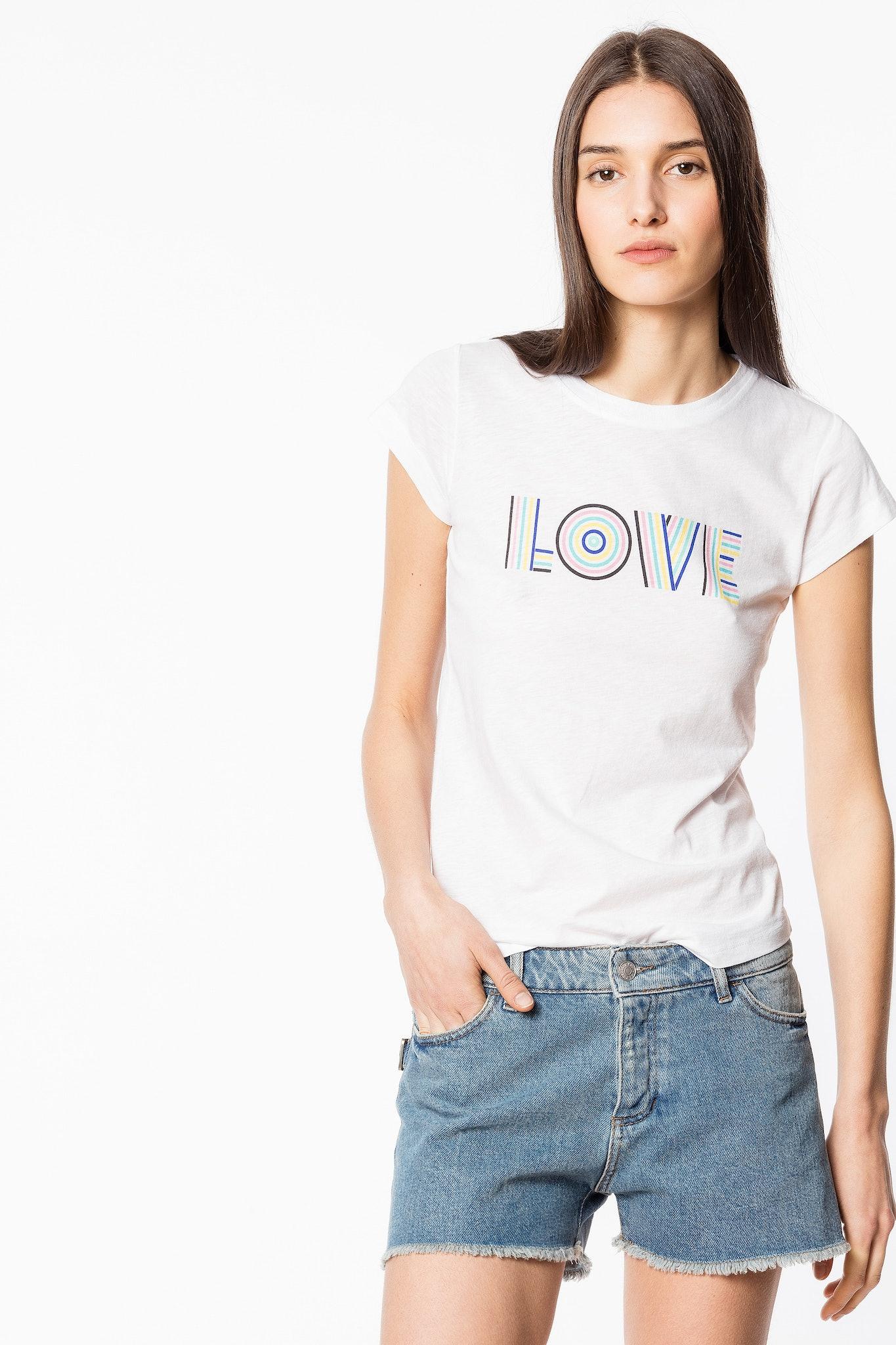 T-shirt Skinny Love