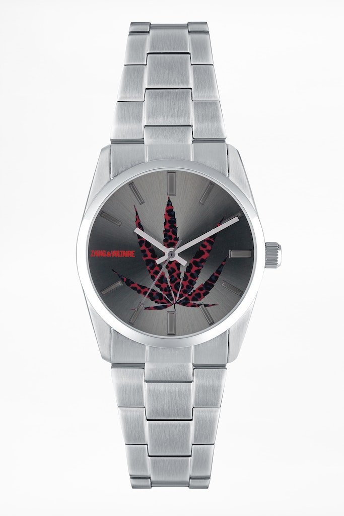 Montre Timeless Feuille