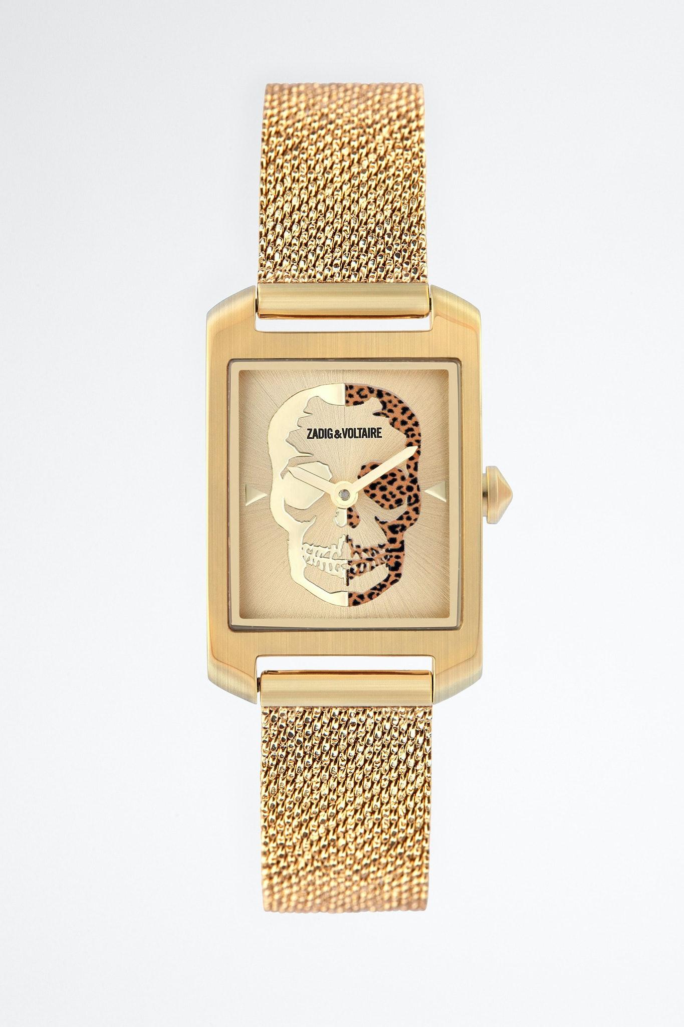 Reloj Timeline Tête De Mort