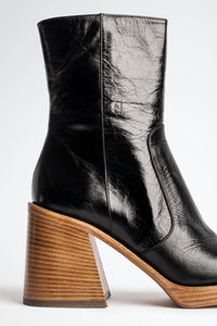 Bottines Star Vintage Patent