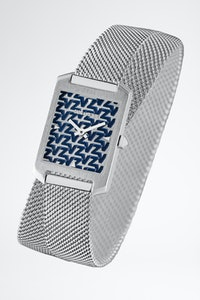 Montre Timeline Monogramme Bleu