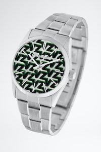 Montre Fusion monogramme vert
