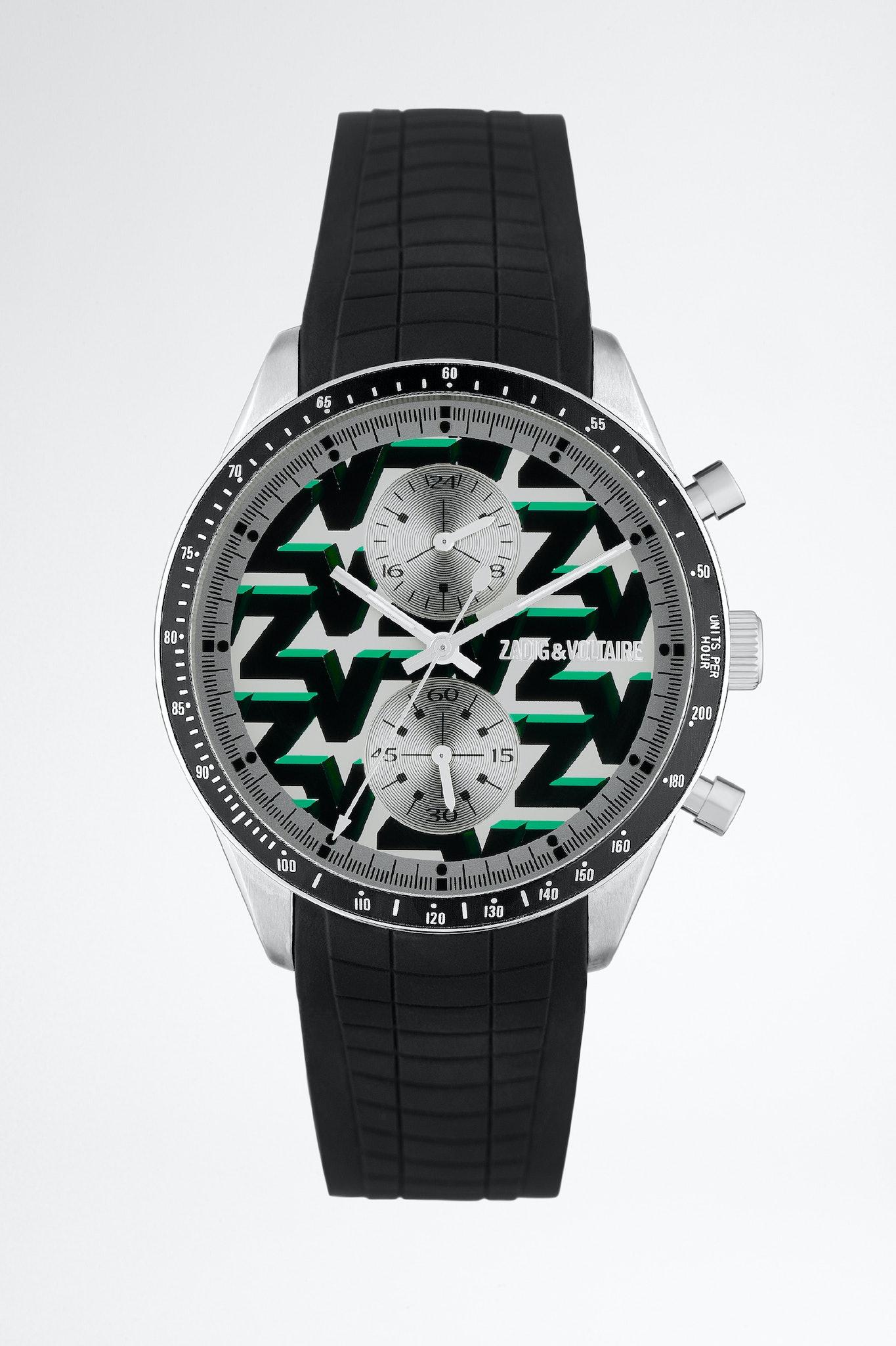 ZV monogram Master chrono watch