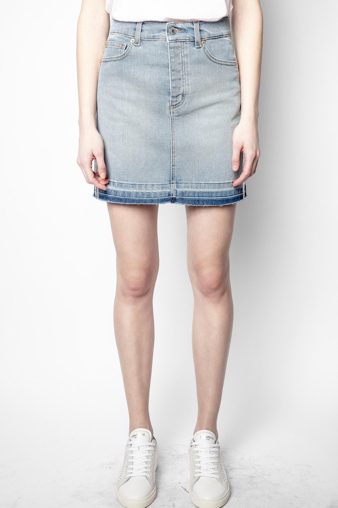 Juicy Denim Blue Skirt