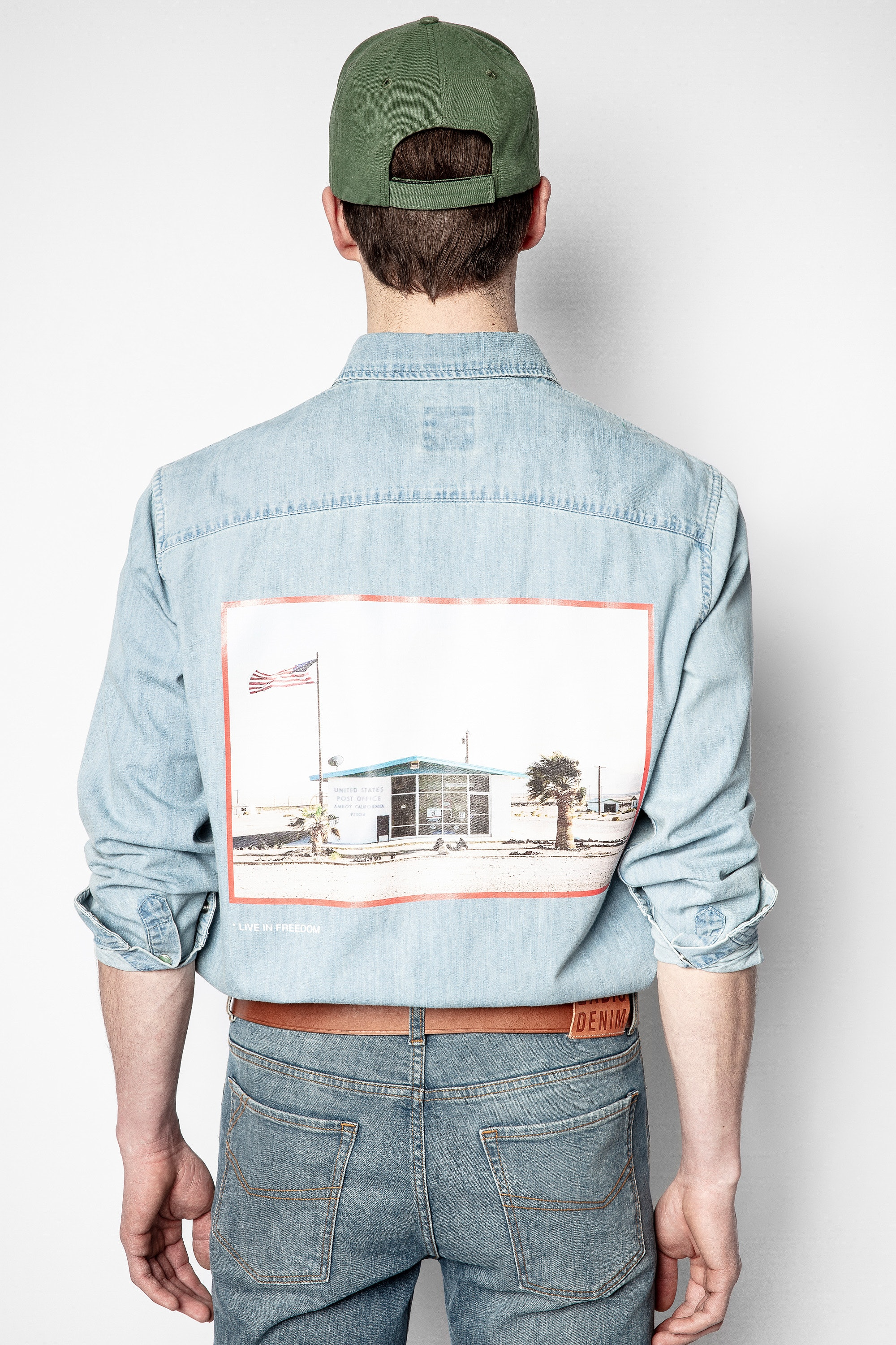 Hemd Sala Denim Photoprint