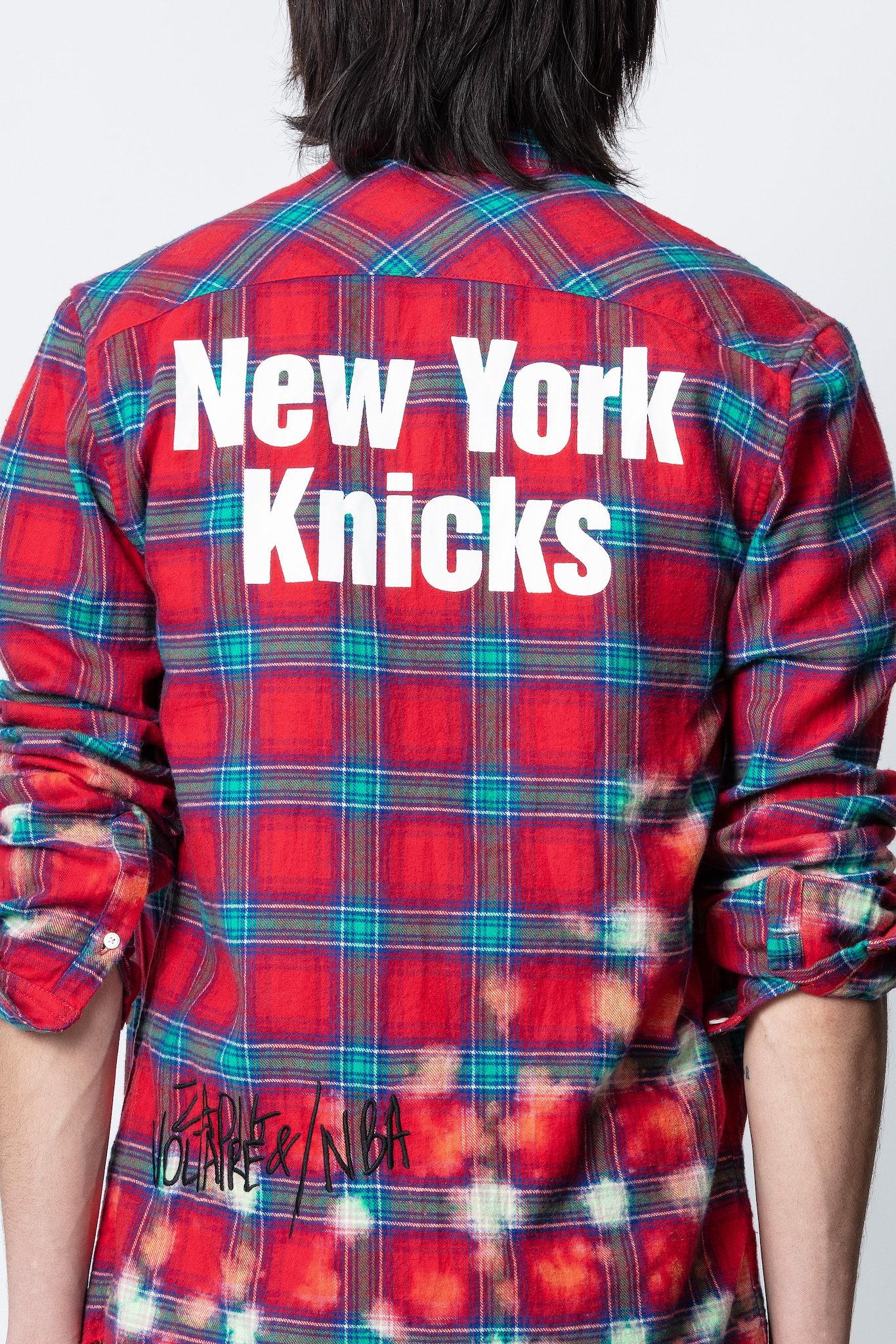 Torrol Knicks Plaid Shirt NBA