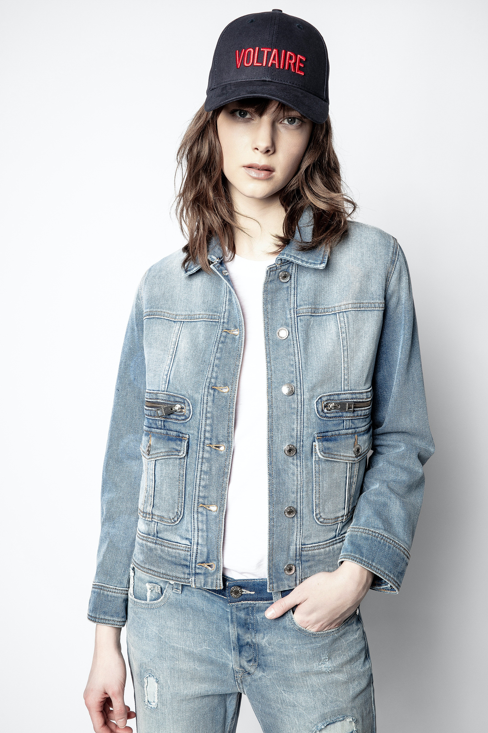 Liamy Denim Jacket