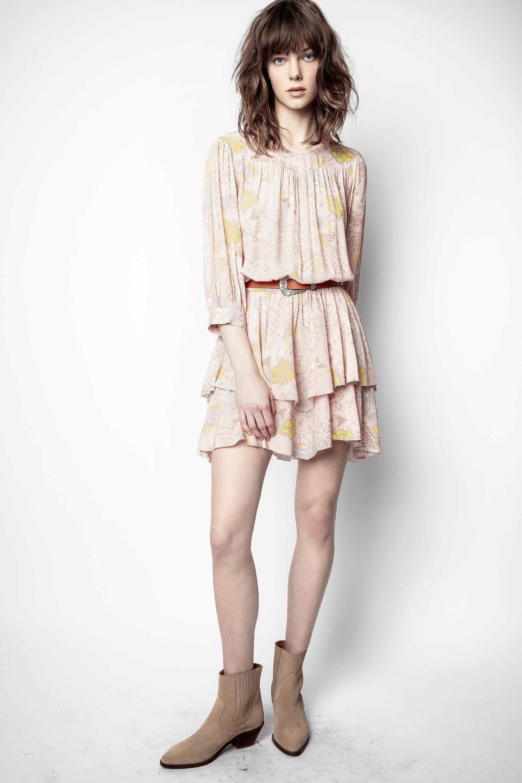 Rooka Print Glam Dress