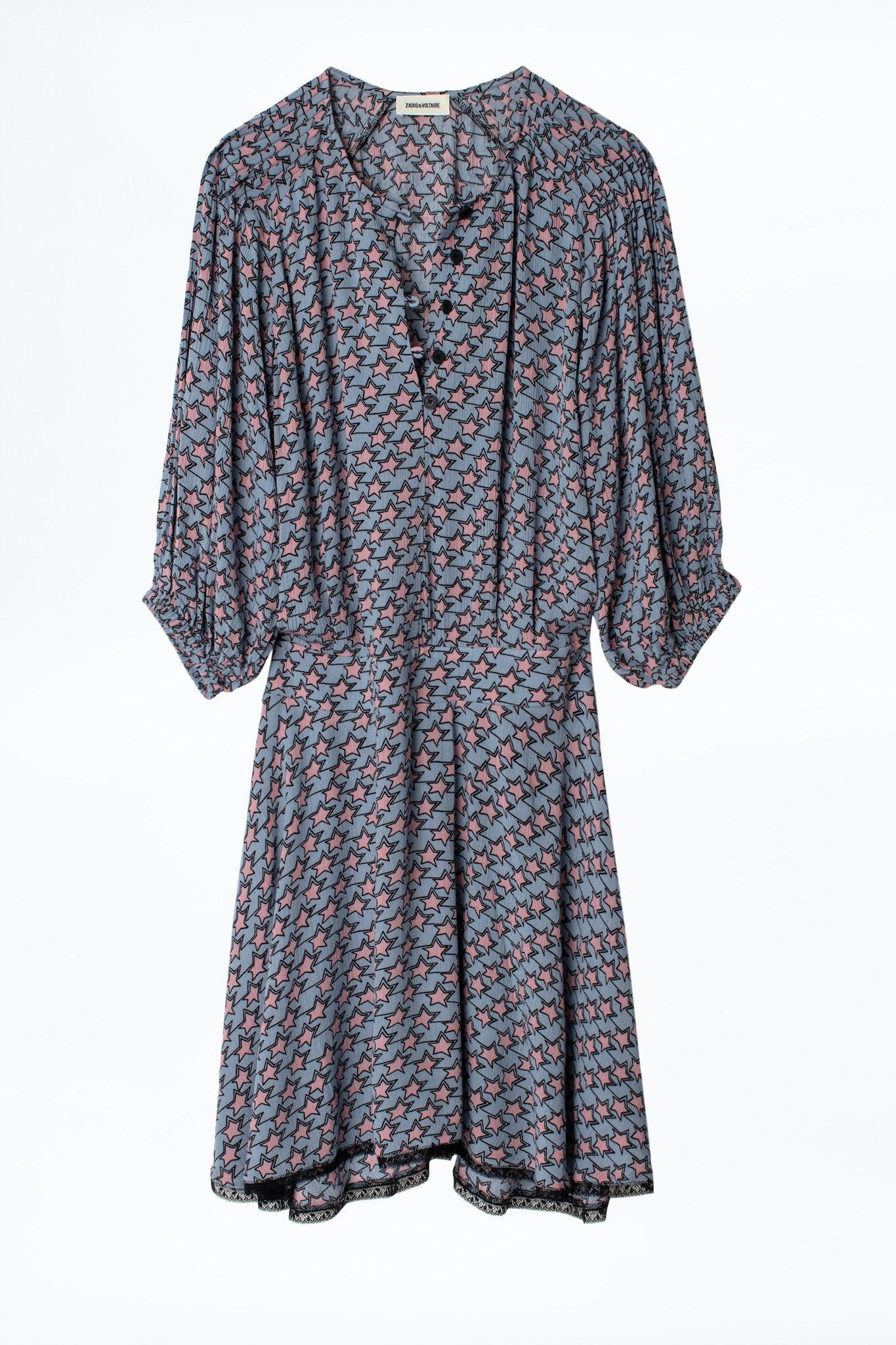 Raspali Print Etoiles Dress
