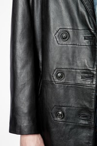 Magic Leather Coat
