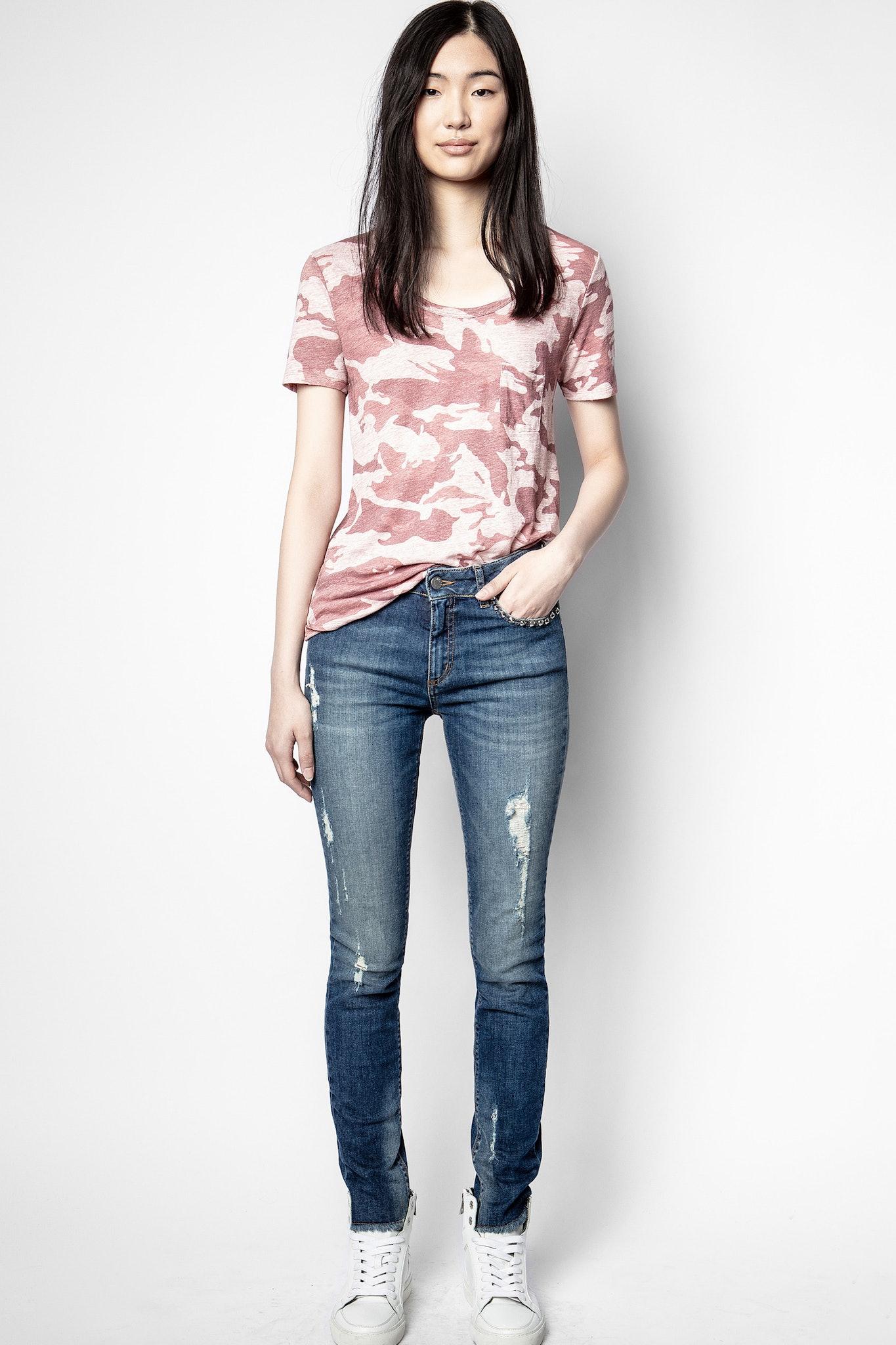 Awa Camo T-Shirt