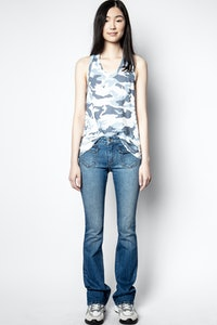 Ander Camou Tank Top