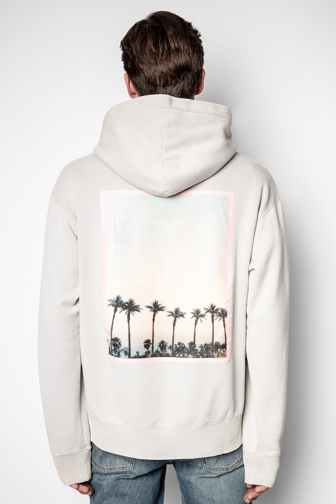 Sanchi Peace Photoprint Sweatshirt