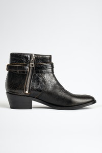 Pilar Used Ankle Boots