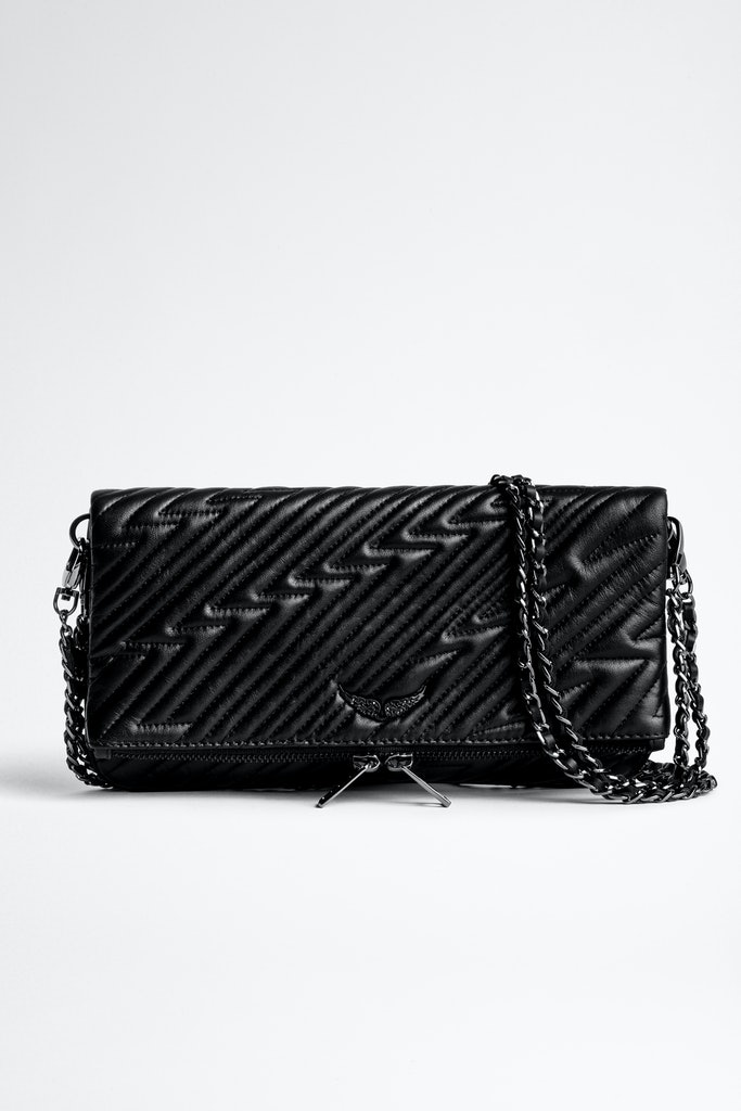 Rock Flashlight Quilted Clutch