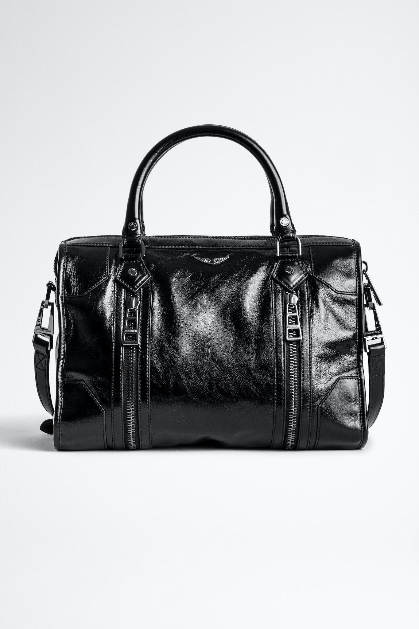 Sunny Medium #2 Vintage Patent Bag