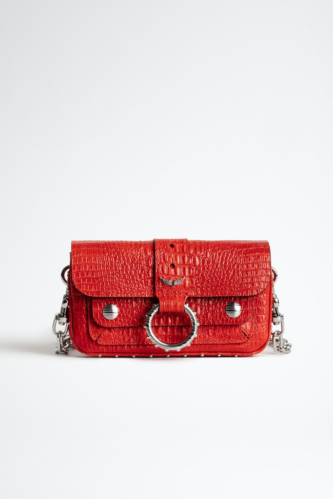 Sac Kate Wallet Croco