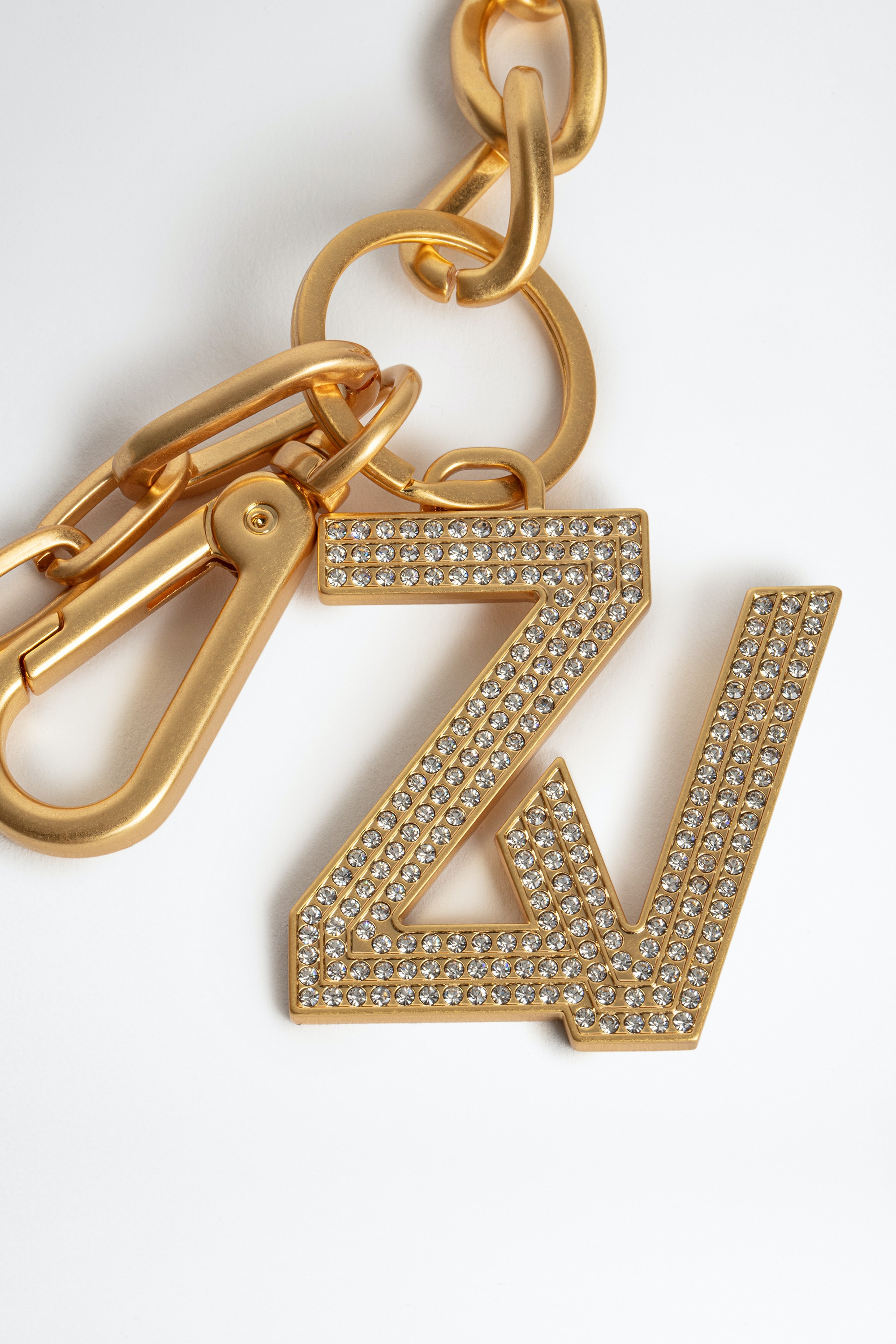 Llavero ZV Initiale Le Keyring Strass
