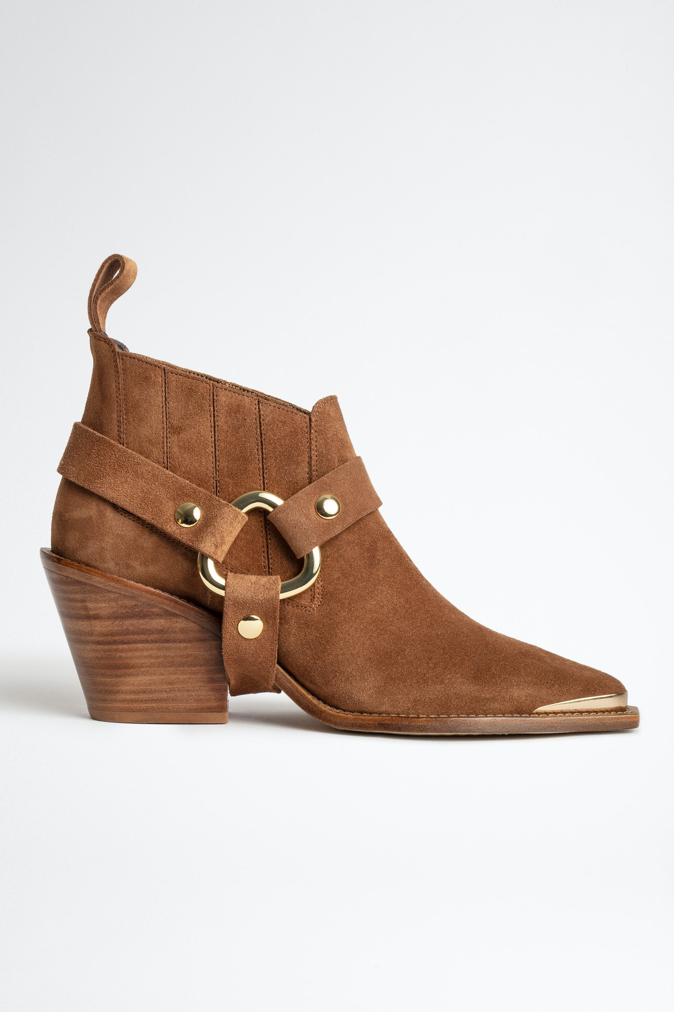 N'Dricks Suede Ankle Boots