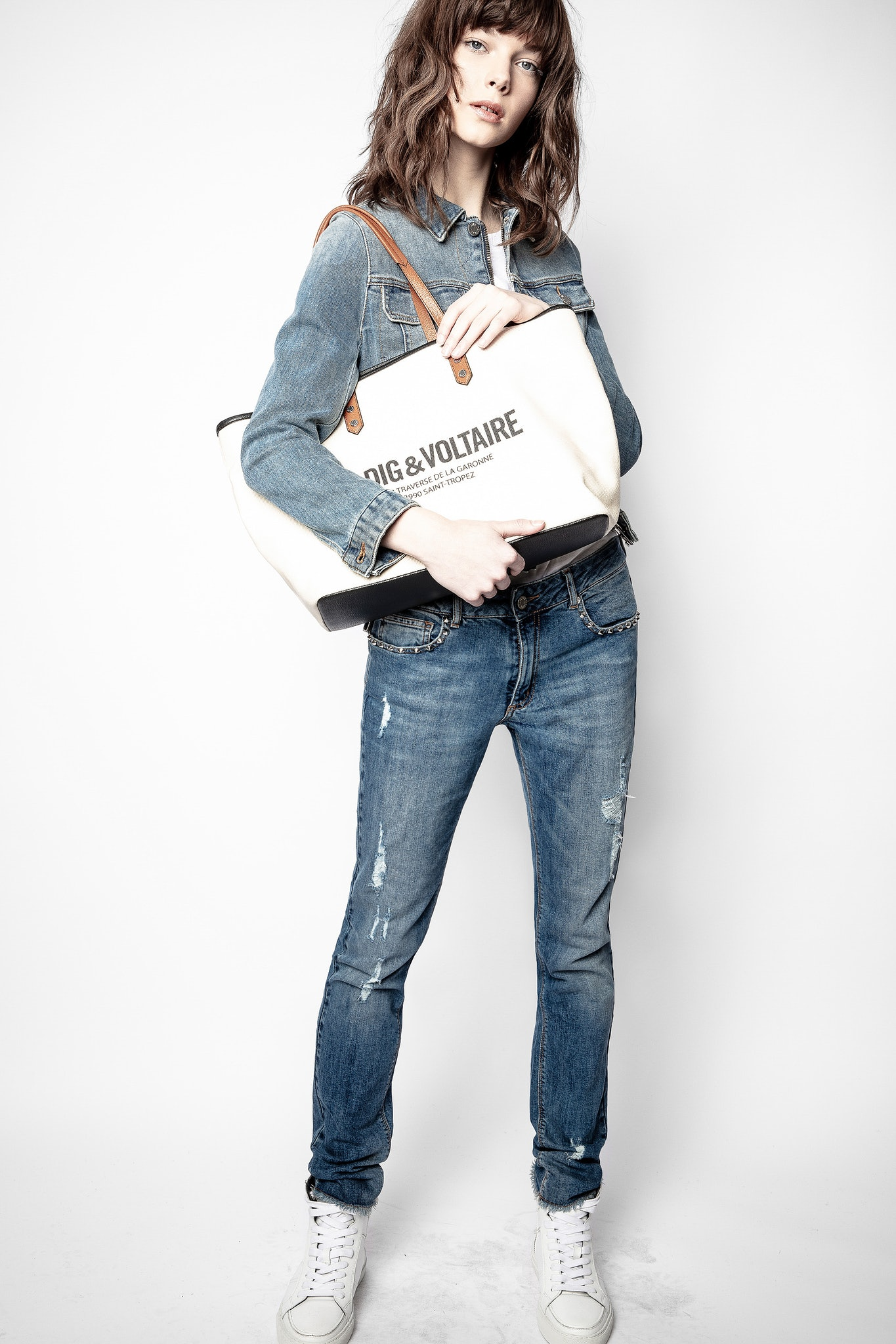 Mick Canvas St Tropez Bag