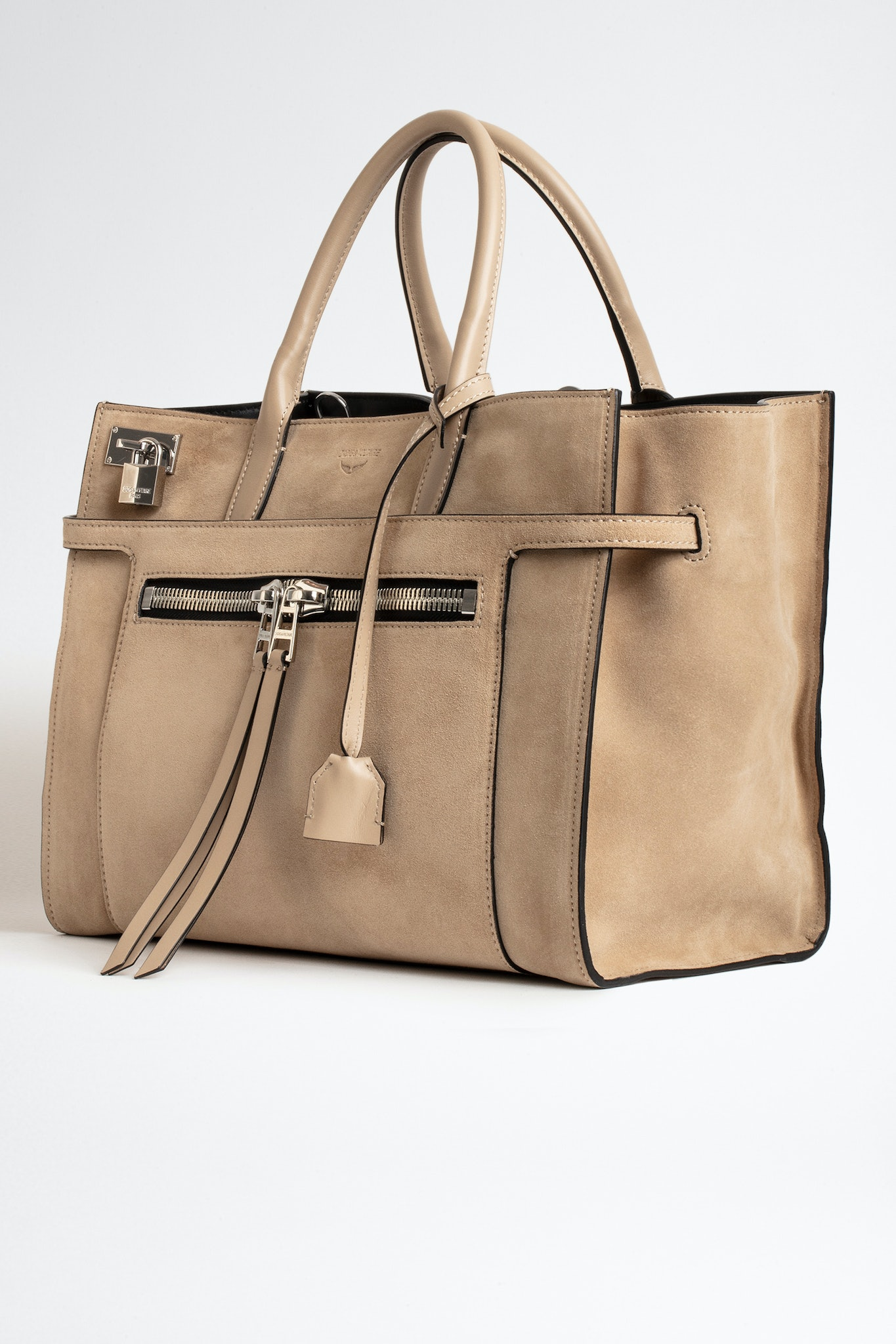 Bolso Candide Large Zip Suede