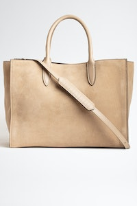 Sac Candide Large Zip Suede
