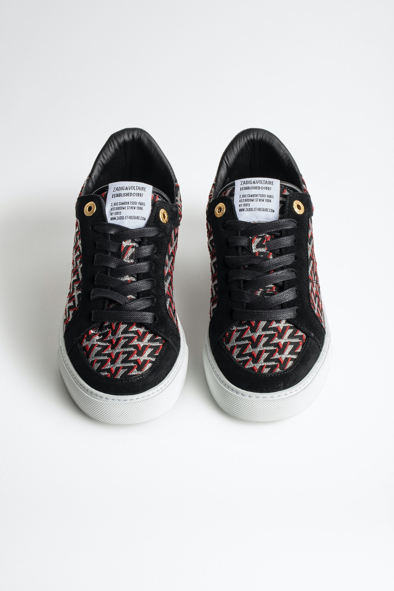 ZV1747 Board Monogram Sneakers