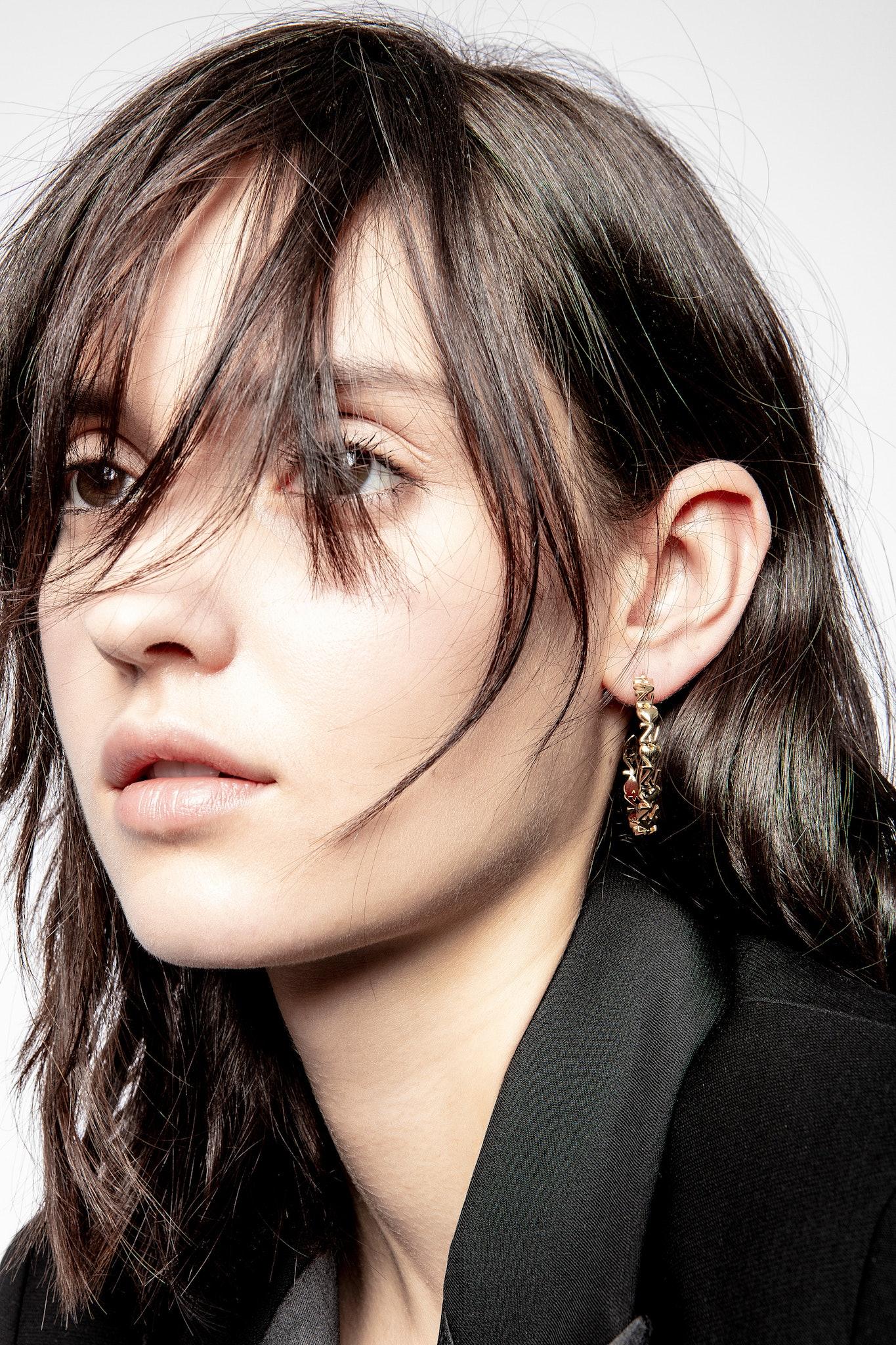 ZV Initiale Heart Earrings
