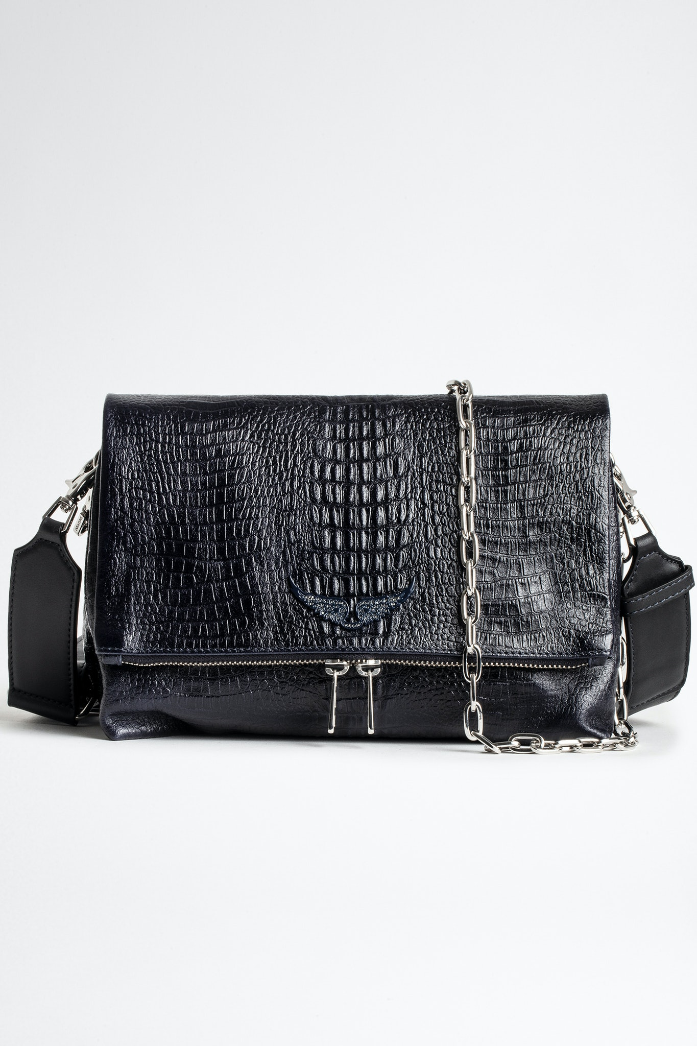 Sac Rocky Embossed Tiny Croco