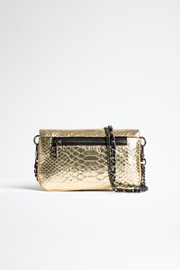 Rock Nano Metallic Savage Clutch