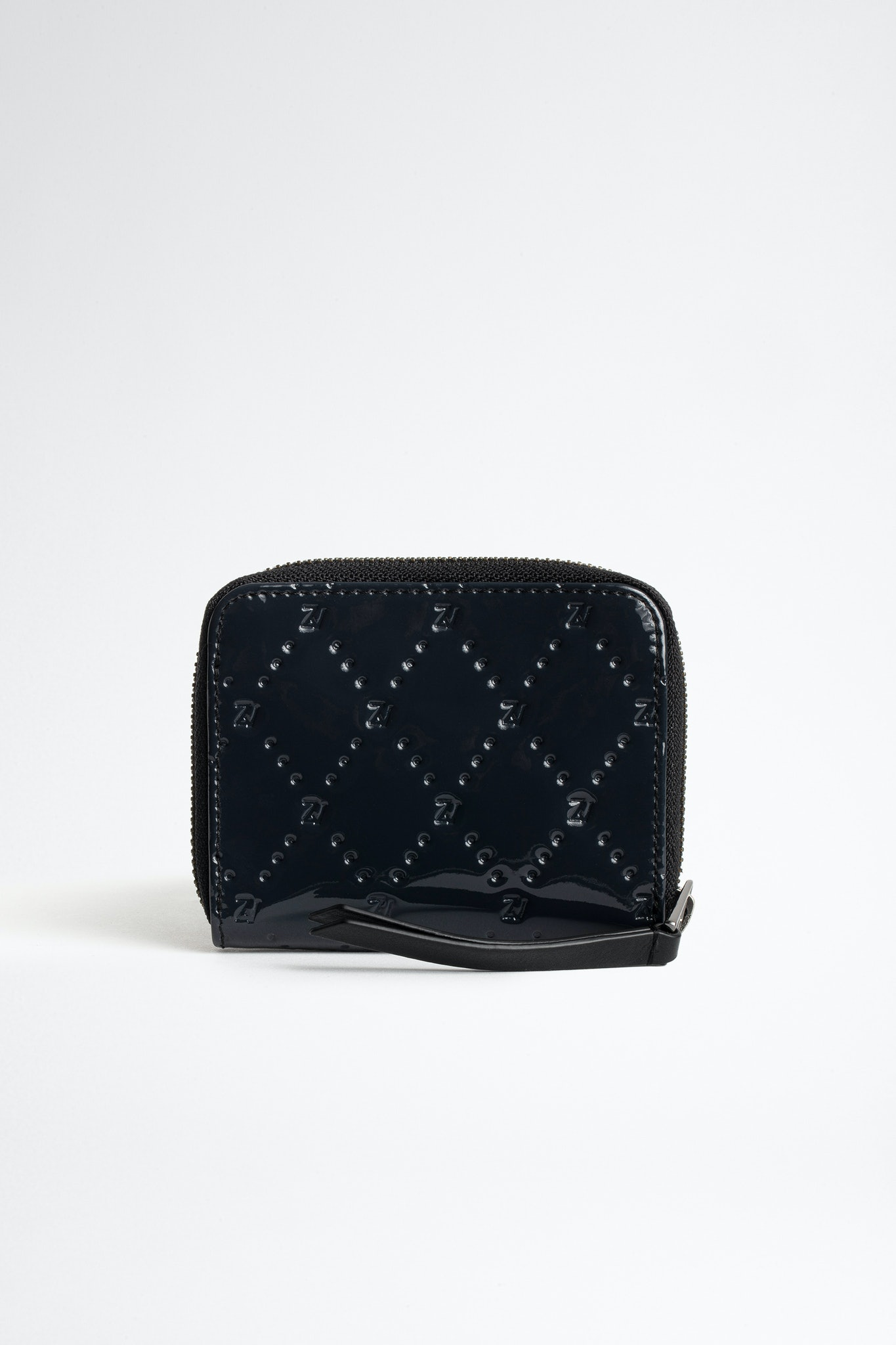Mini ZV Embossed Patent Coin Purse