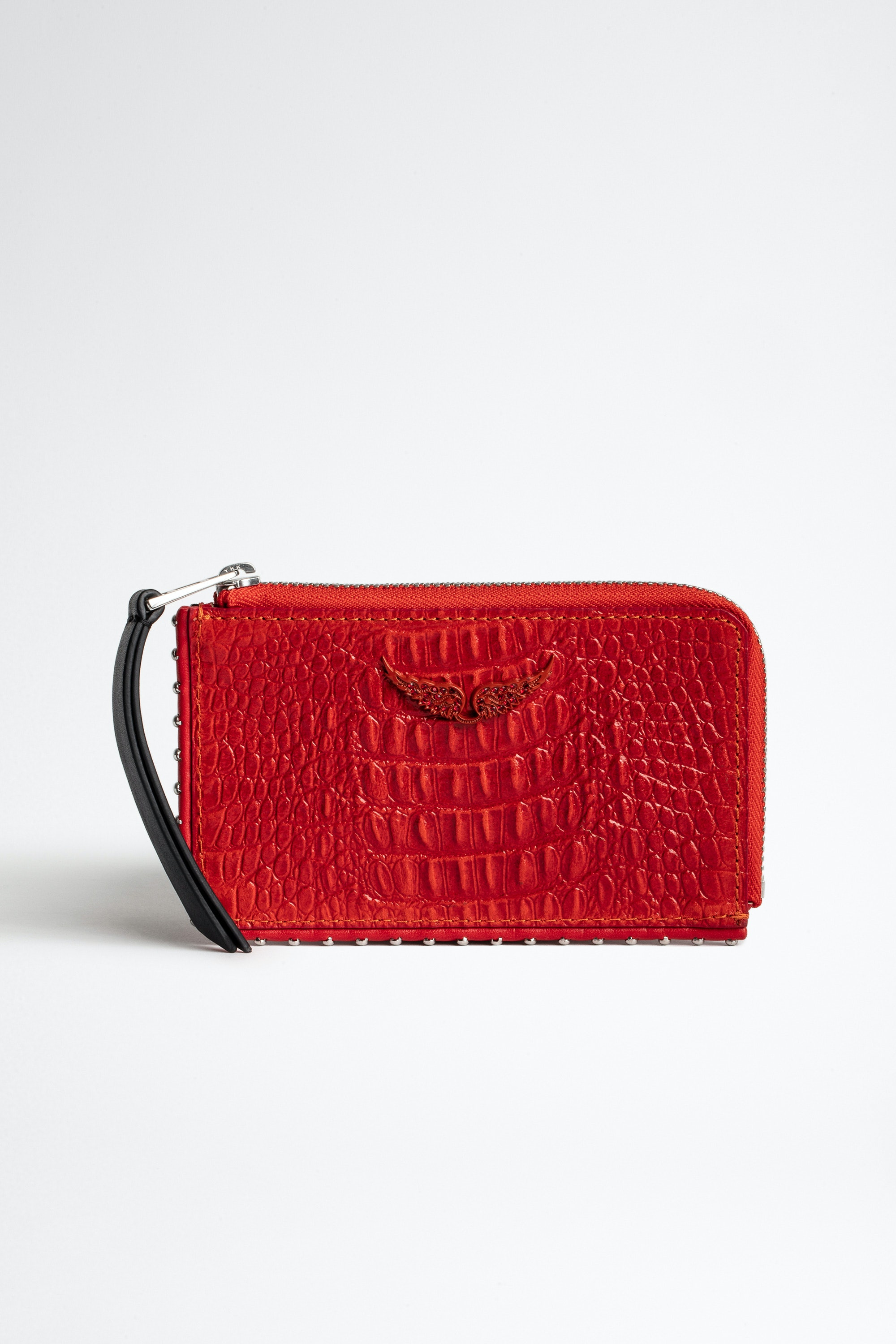 Porte-Cartes Zv Card Embossed Tiny Croco