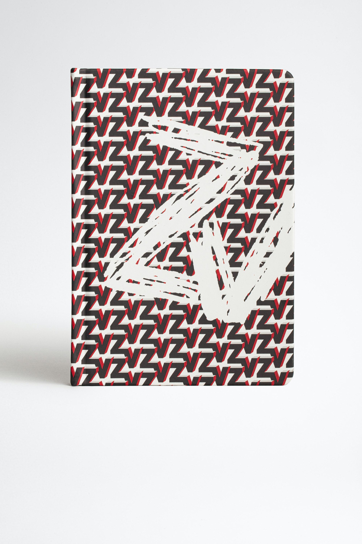 Notizbuch ZV Initiale Monogram Blason