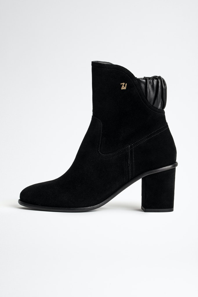 Lena Suede Ankle Boots