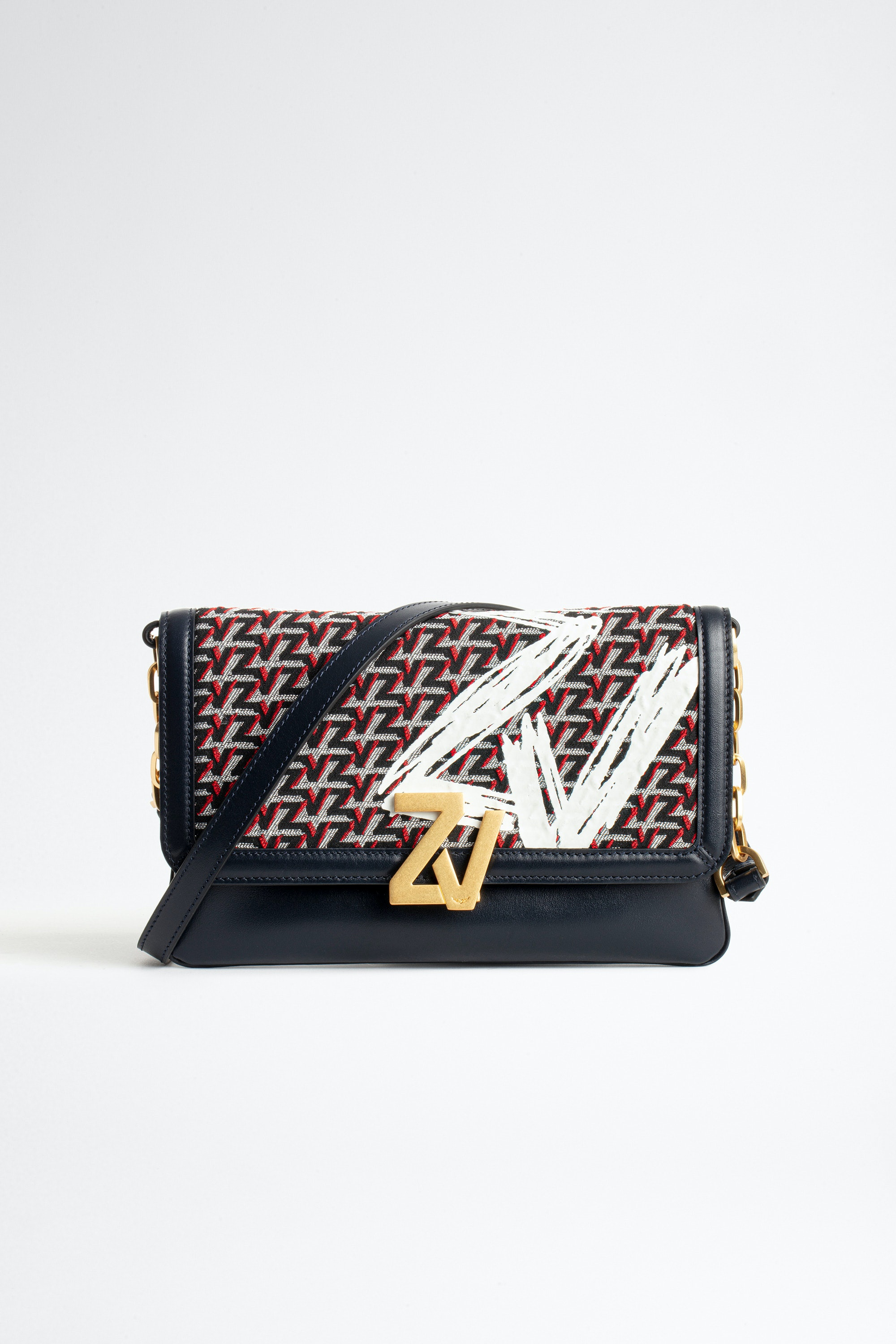 ZV Initiale clutch bag Coat of arms monogram