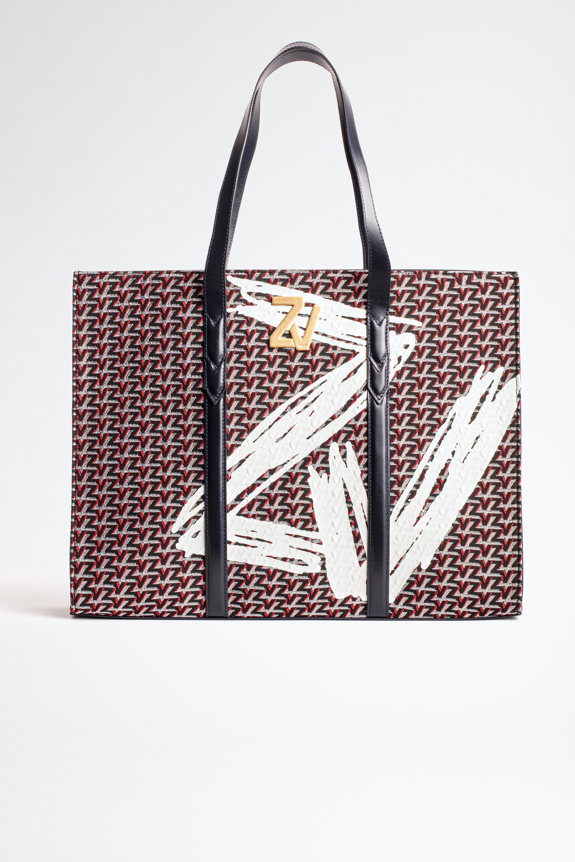 ZV Initial Tote bag Monogram Coat of arms